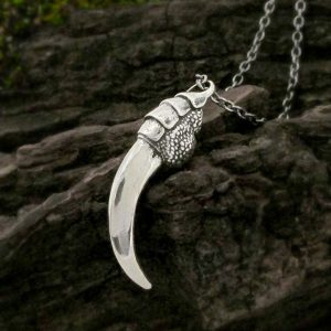 Raven Talon Necklace