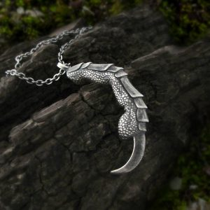Single Raven Claw Necklace