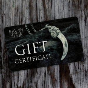 RavynEdge Gift Certificate