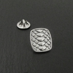 Dragon Scale Lapel Pin