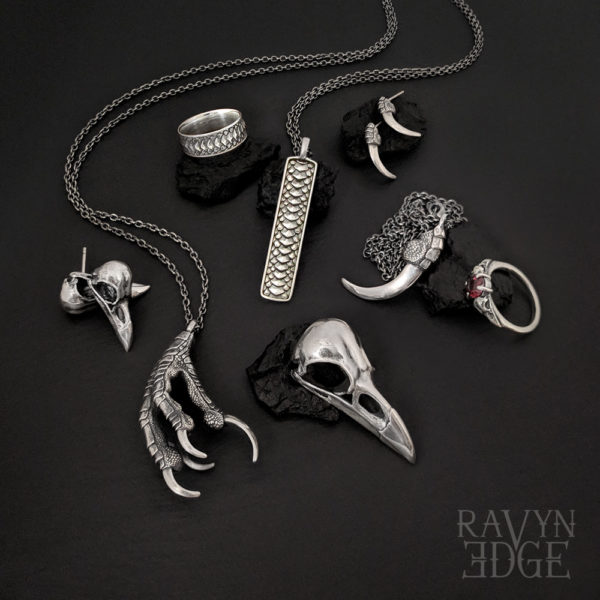 Sterling silver gothic jewelry